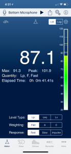 Level Meter Screenshot