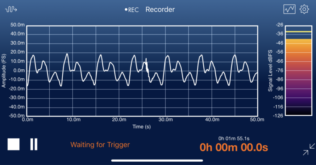 Data Recorder Screenshot